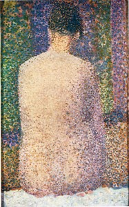 georges-seurat-model-from-the-back-1886 2